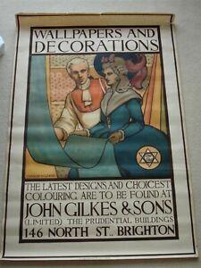 John Gilkes & Son Brighton Original A0 Poster