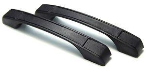 BLACK INTERIOR DOOR PULLS PULL HANDLES FITS TOYOTA COROLLA KE20 KE25 KE30 KE35