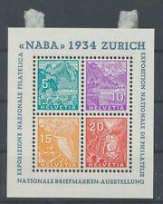 Schweiz Block 1 mit Falz (15950) ...............................................