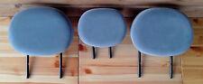 3 appuie-tête repose tete siege banquette arriere gris moyen Citroen C3 6 guides