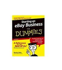 EBOOKstarting an ebay business for dummies
