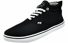 Russell Athletic Mid Cut Mens Casual Plimsoll Trainers Black UK 9 free shipping