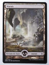 Marais (Version 5)La bataille de Zendikar - Swamp    MTG Magic Francais