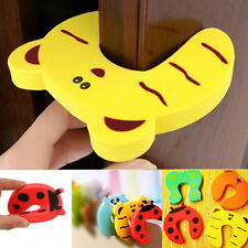 5X Safety Kid Baby Finger Protector Jammers Stop Door stopper lock Pinch Guard A