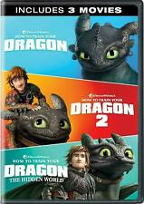 How to Train Your Dragon 3-Movie Set (DVD, 2019, Collection Edition)
