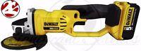 "DEWALT DCG412B 20V 20 Volt Max Lithium Ion 4 1/2"" Angle Grinder Cut Off Tool"