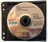 Microsoft Windows XP Professional 64 bit X64 - FULL VERSION, AS PICTURED W/ Key