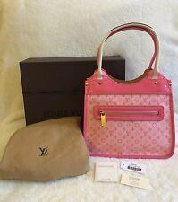 Louis Vuitton ~ AUTH. Sac Kathleen Rose Pink Mini Lin Monogram M92930 ~ MINT New