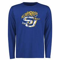 Southern University Jaguars Big & Tall Classic Primary Long Sleeve T-Shirt -