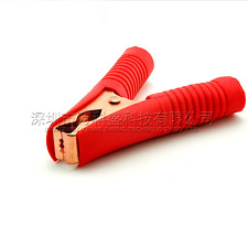 4pcs 100A Electrical Crocodile Alligator Car Battery Insulated Test Lead Clips