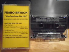 RARE PROMO Peabo Bryson CASSETTE TAPE Can You Stop the Hits NATALIE COLE R Flack