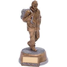 Unsung Hero Figure Football Trophies FREE Engraving
