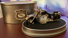 FOSSIL MOTORCYCLE CLOCK LIMITED EDITION COLLECTOR WOW!