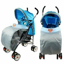 Universal Clear Waterproof Rain Cover Wind Shield Fit Strollers Pushchair S46