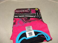 MONSTER HIGH GIRL'S THERMAL  UNDERWEAR SET SIZE 10