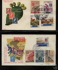 San Marino  stamps on stamp covers