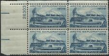 Scotts #1128 4c Arctic Explorations Plate Block Of 4, Mnh