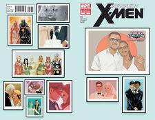 Astonishing X-Men #51 :: HeroesCon 30th Anniversary Shelton & Linda Drum Variant