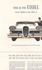 1958 Edsel Full Line Sales Brochure mw4432-QLPHWS