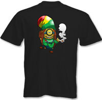 Rasta Minion Mens Funny T-Shirt Bob Marley Reggae Weed Minions 3XL 4XL 5XL