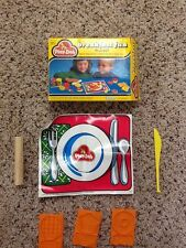 Vintage 1982 Play-doh Breakfast Fun Playset No Play-doh Included Used
