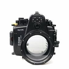 Polaroid SLR Dive Rated Waterproof Underwater Housing Case for The Nikon 80d Wit