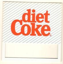 "diet Coke Vending Machine Insert, Push Button Style, 3 1/2"" x 3 1/2"""