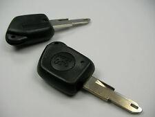 Peugeot 106 206 306 405 406 Schlüsselrohling Schlüssel Fernbendienung 1 Taste