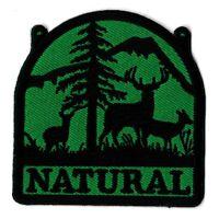 Écusson natural ecolo patche nature patch badge thermocollant hotfix
