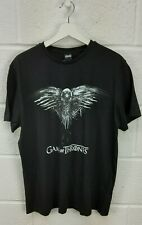 MENS BLACK COTTON GAME OF THRONES T- SHIRT - SIZE LARGE BNWT