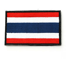 Thailand flag Patches ARMY MORALE TACTICAL BADGE Embroidery PATCH   LH+785