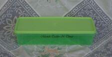 TUPPERWARE SMALL MODULAR EASY CRISP FRIDGE CELERY CARROTS KEEPER GREEN