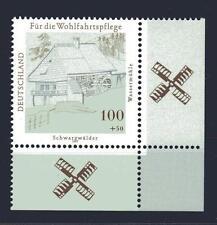 Bund Mi-Nr 1948 Ecke 4 (100+50 pf) Schwarzwälder Wassermühle ** Postfrisch 1997