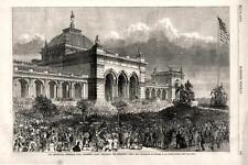 Our Centennial  - President Grant Declaring the Exhibition Open  -  1876