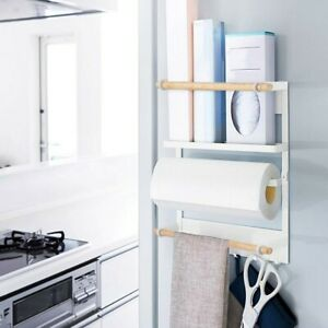 Multi-function Kitchen Wall-mounted Storage Rack Bathroom Organizer Holder Shelf