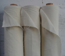 "100% Natural Cotton Calico Fabric Medium Weight 145gsm 31"" Handcraft 1M RRP£8.99"