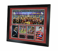 Western Sydney Wanderers Signed photo Asian Champions League Memorabilia Framed