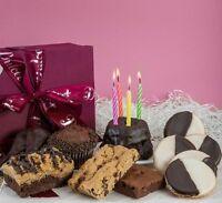 Dulcets Gourmet Chocolate Birthday Sampler Celebration Gift Basket