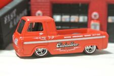 Hot Wheels Loose '60s Ford Econoline Pickup  Real Riders Red Shop Trucks