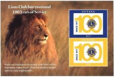 Guyana 2017 - Lions club international 100 years of service - Two stamp S/S