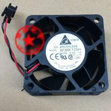 1pcs  Delta AFB0612SH 6025 12V 0.32A 6CM 60mm PWM fan