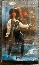 Disney Pirates of the Caribbean Angelica Barbie Pink Label Unopened
