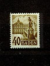 Echte postfrische Briefmarken aus der französischen Zone (ab 1945)