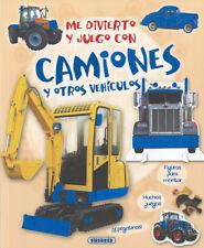 Me divierto y juego con camiones y otros vehículos. ENVÍO URGENTE (ESPAÑA)