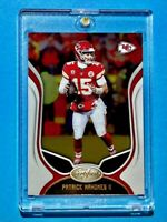 Patrick Mahomes PANINI CERTIFIED CHIEFS FOOTBALL 2019 HOT INVESTMENT CARD Mint!