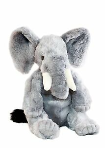 Elephant Plush Stuffed Soft Toy 30cm/12in Jumbo by Bocchetta CLEARANCE