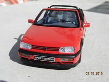 Vokswagen Golf 3 cabriolet sport edition 1/18 Ottomobile