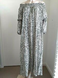 Baum Und Pferdgarten Leopard Print Maxi Dress Size 38
