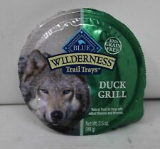 Blue Wilderness Trail Trays Food for Dog Duck Grill 3.5 Ounce