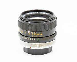 Canon Lens FD 50mm f/1.4 SSC Fast Standard Prime Lens